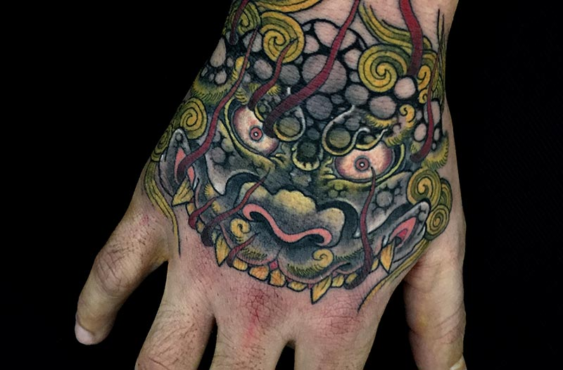 tatuaje japones valencia
