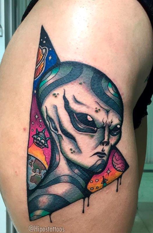 tatuaje neotradicional joan TATUARTE