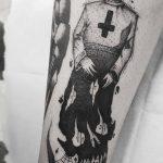 tatuaje valencia dark style