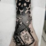 dark style tatuaje