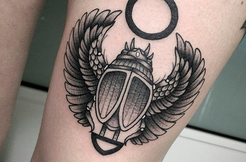 tatuaje escarabajo valencia