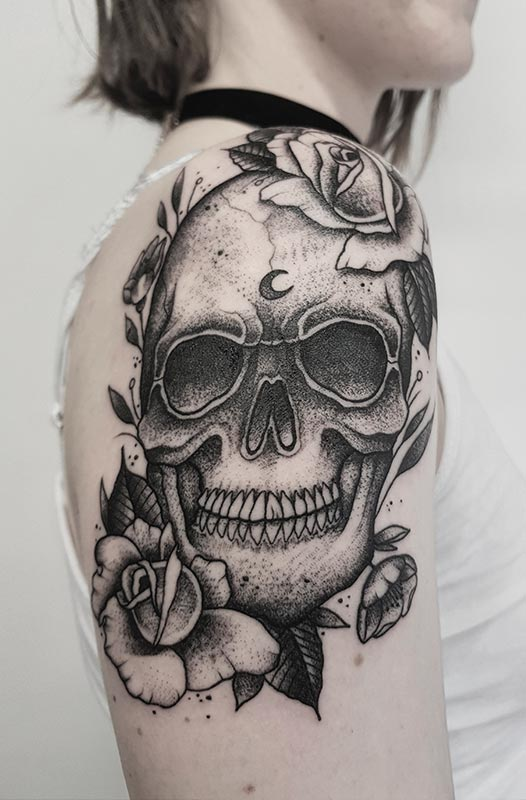 Tatuaje Dark Joan valencia
