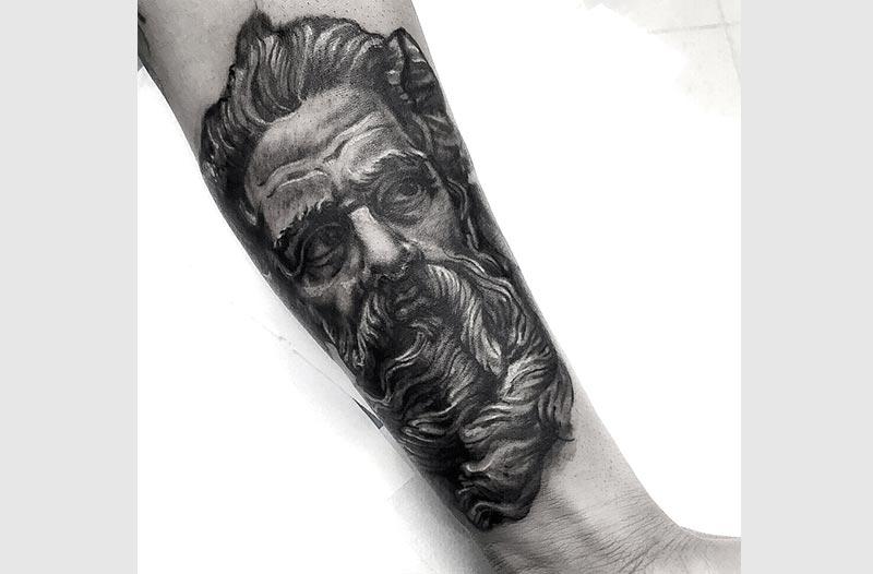 tatuaje de realismo